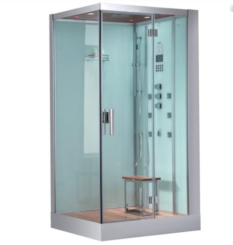 "Image of Platinum 47"" Walk In Steam Shower"
