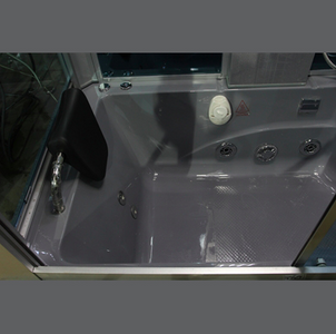 "Mesa Yukon Steam Shower Tub Combo 60"" x 33"" x 87"" - WS-501"