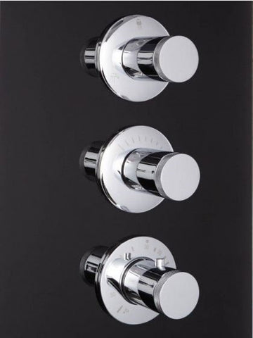 "Image of Athena 59"" Walk In Steam Shower - WS-112"