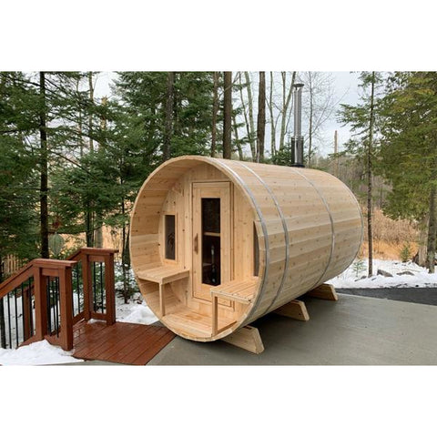 Dundalk Barrel Sauna Canadian Timber Tranquility - CTC2345W