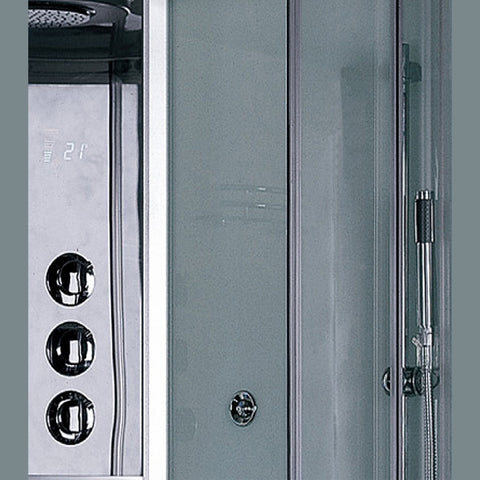 "Image of Platinum 35"" Walk In Steam Shower - DZ934F3"