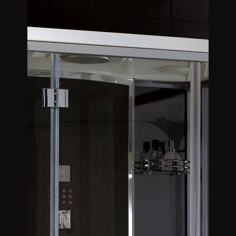 "Platinum 59"" Free Standing Steam Shower"