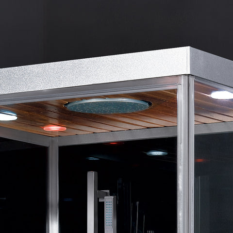 "Image of Platinum 39"" Rectangular Steam Shower"