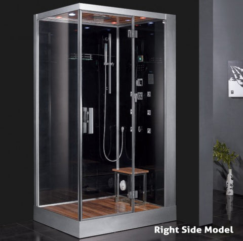 "Platinum 47"" Walk In Steam Shower"