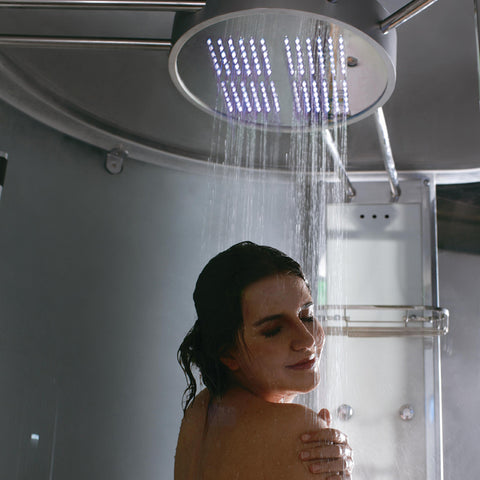 "Image of Athena Platinum 53"" Walk In Steam Shower - WS-131"