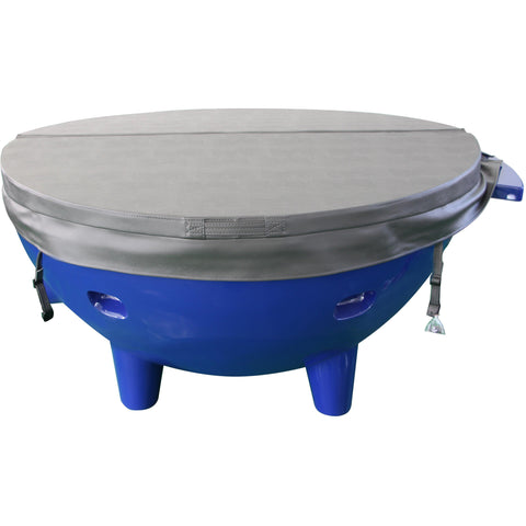 ALFI brand FireHotTub The Round Fire Burning Portable Outdoor Hot Bath Tub - Oceanviewcity