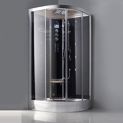 "Image of Athena 39"" Corner Steam Shower - WS-102"