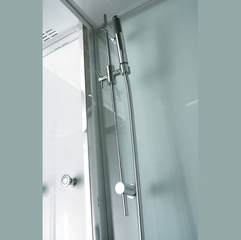 "Athena Platinum 53"" Walk In Steam Shower - WS-131"