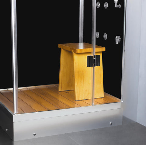 "Image of Athena 47"" Corner Steam Shower - WS-105"