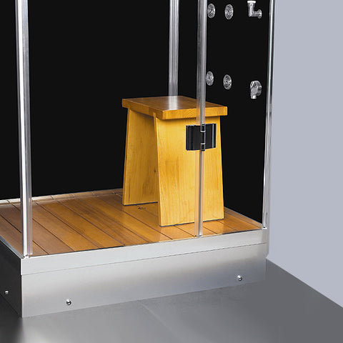 "Athena 39"" Walk In Steam Shower"