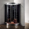 "Athena 47"" Corner Steam Shower - WS-105"