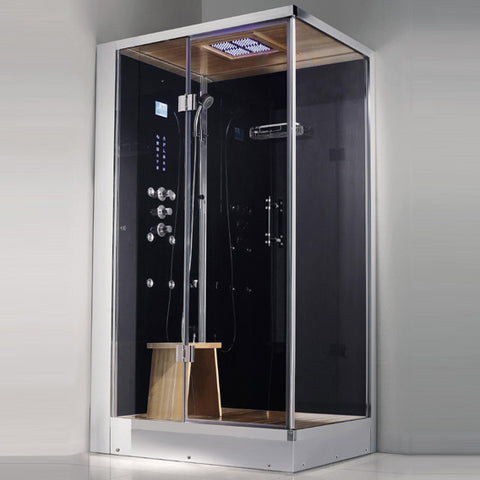 "Image of Athena 39"" Walk In Steam Shower"