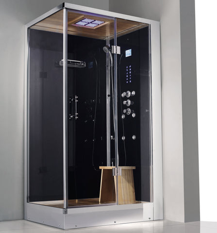 "Image of Athena 47"" Walk In Steam Shower"