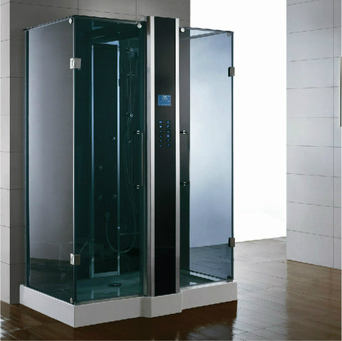 "Image of Athena 59"" Free Standing Steam Shower"