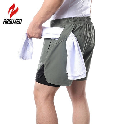 8 Colors 2 in 1 Running Shorts