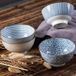 Set of Japanese Traditional Dinner Bowls