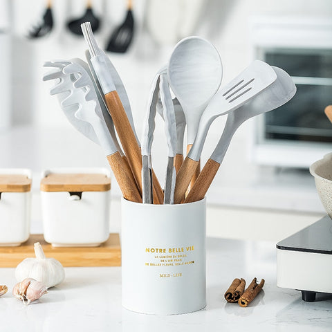 Luxury Silicone Utensils Set