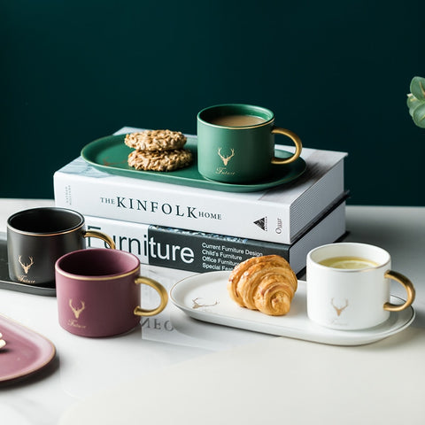 Elegant Ceramic Coffee Set