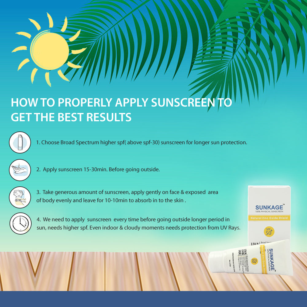 Sunkage Sunscreen Cream SPF50