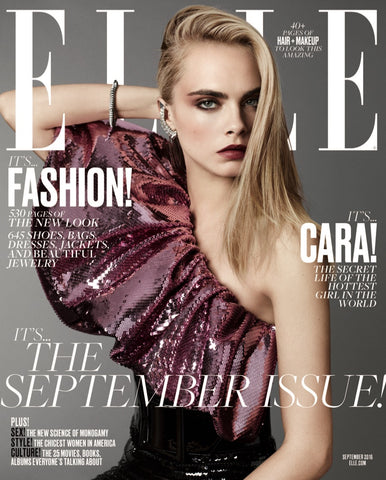 Elle 2016 September Issue_Cara Delevigne