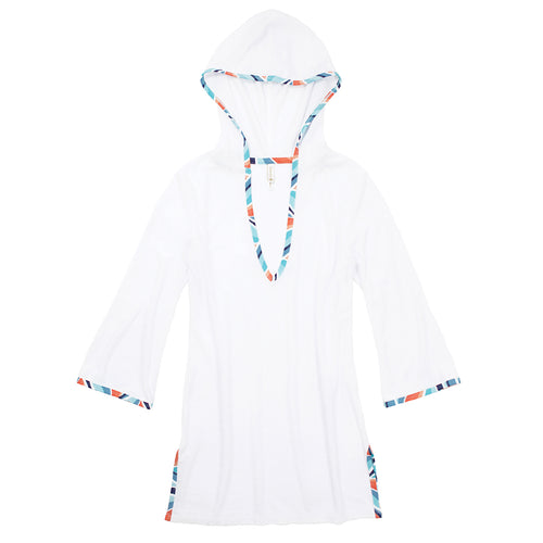 HOODED TERRY COVER-UP-ESTRADA