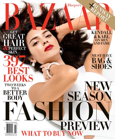 Harpers Bazaar Kendall Jenner Cover July 2016