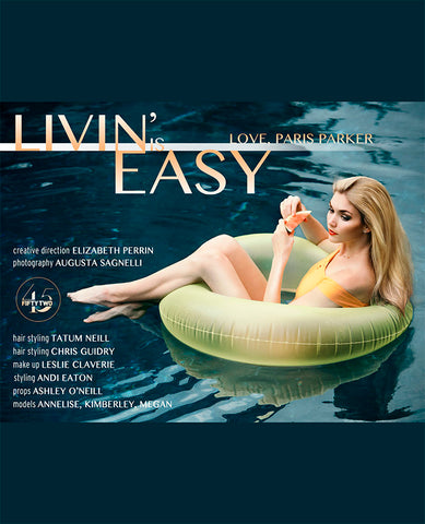 Livin' is Easy Love, Paris Parker: Editorial