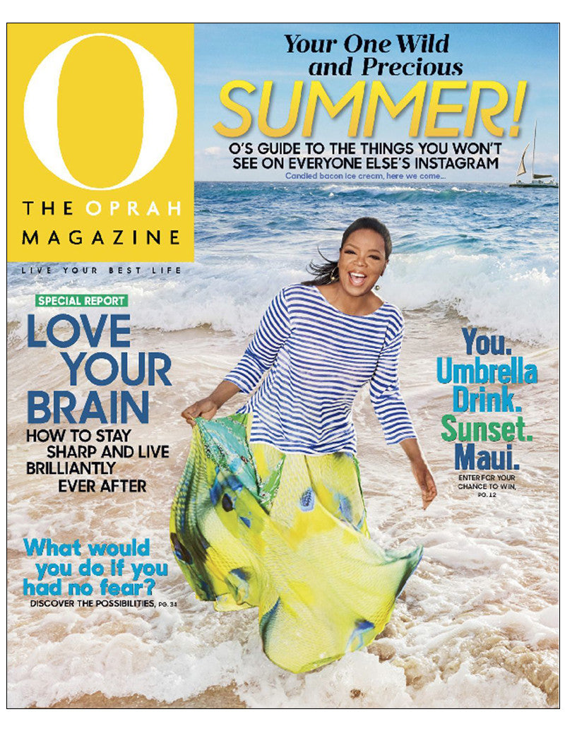 Oprah June 2017 Magazine Cover