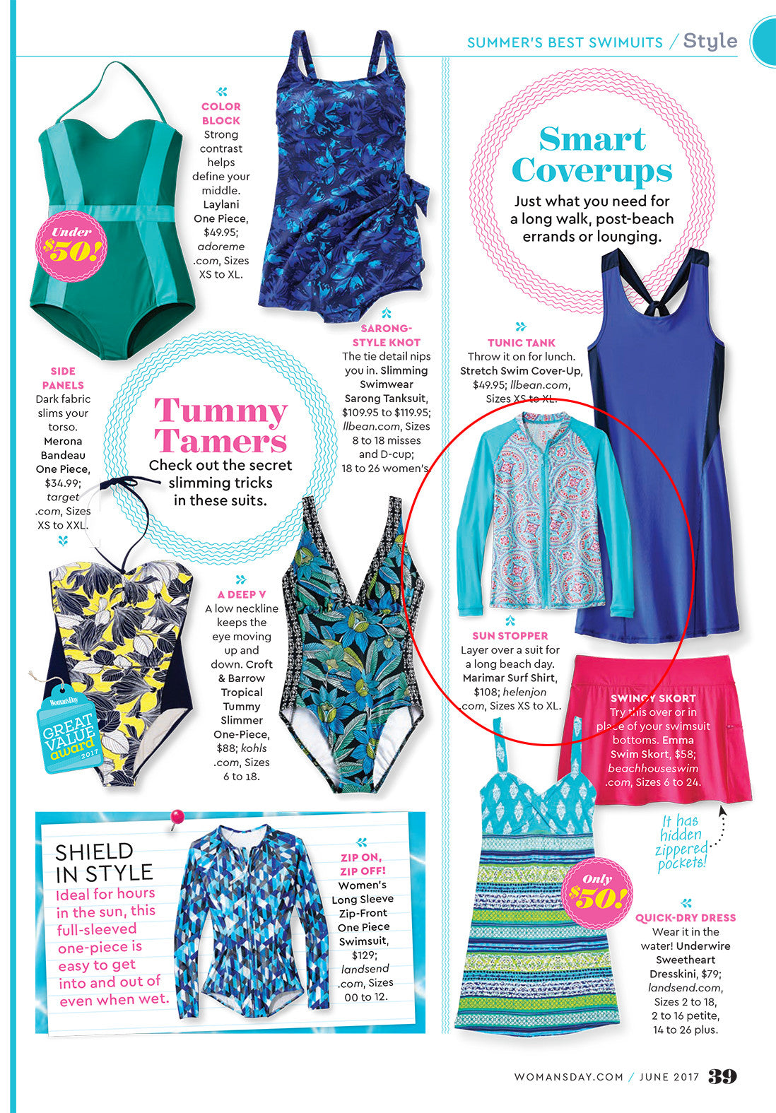Woman's Day Swim feature
