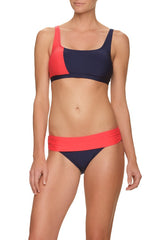 DRAPER JAMES X HELEN JON SHORELINE BRA-GINGER & NAVY
