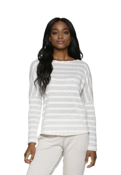 BEACH SWEATER-LATTE IVORY