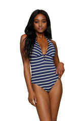 KEY HOLE ONE-PIECE-ST TROPEZ