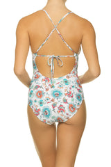 TIE BACK ONE-PIECE-BALI HAI - back