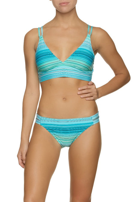 REVERSIBLE TUNNEL SIDE HIPSTER-JADE COAST SOLID
