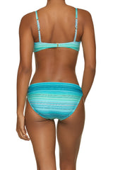 TWIST UNDERWIRE BRA-JADE COAST