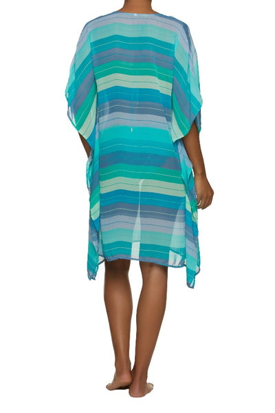 BEACH PONCHO-JADE COAST