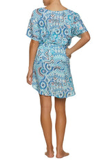 BELTED V-NECK DRESS-HANALEI