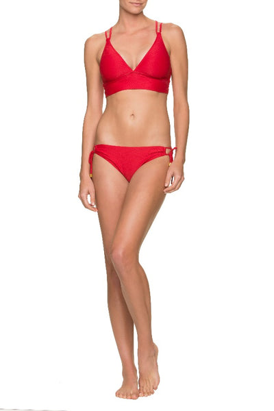 RETREAT BRA-TOPSAIL RED