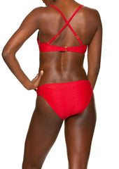 FLOATING UNDERWIRE BRA-TOPSAIL RED