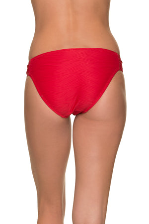 TAB SIDE HIPSTER-TOPSAIL RED