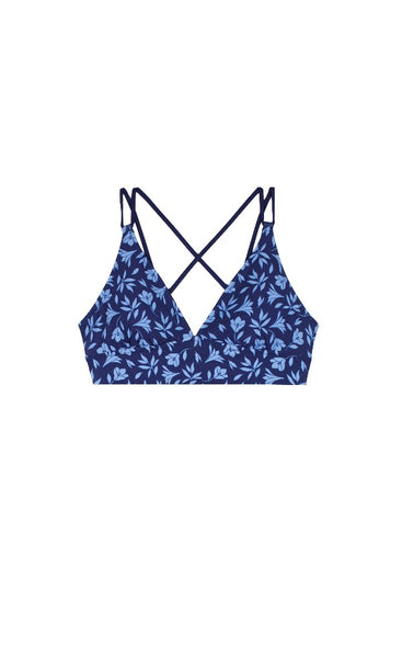 RETREAT BRA-CUT OUT FLORAL