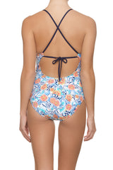 TIE BACK ONE-PIECE-PACIFIC RIM