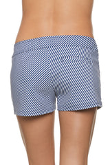 "3"" LACE-UP BOARD SHORT-MARINA STRIPE"