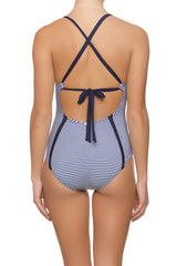 SEASIDE ONE-PIECE-MARINA STRIPE
