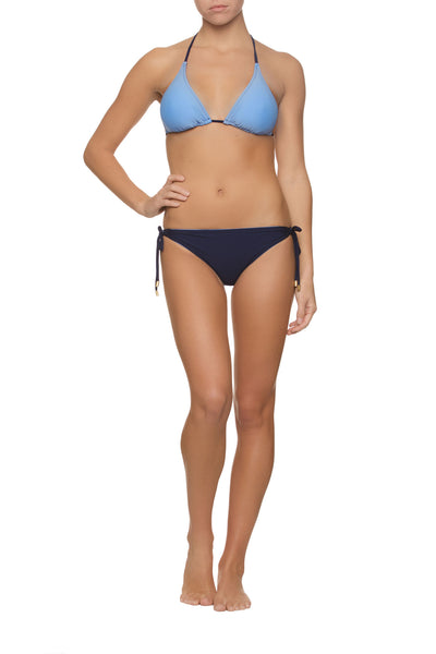 REVERSIBLE STRING BIKINI TOP-POOL