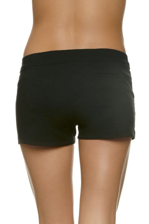 "3"" LACE-UP BOARD SHORT - BLACK"