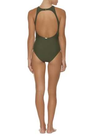 HIGH NECK ONE-PIECE-FATIGUE