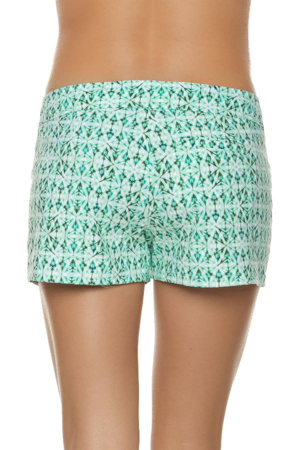 "3"" LACE-UP BOARD SHORT-INDOCHINE PRINT"