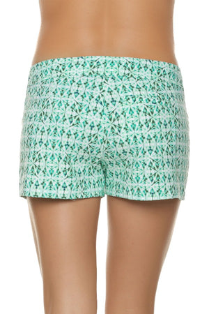 "3"" LACE-UP BOARD SHORT-INDOCHINE"