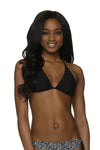 REVERSIBLE STRING BIKINI TOP-SUNSET KEY-BLACK